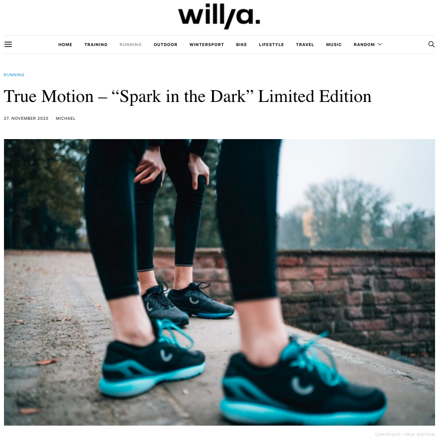 "MEDIEN I 11/20 I ""WILLYA"" I SPARK IN THE DARK – LIMITED EDITION"